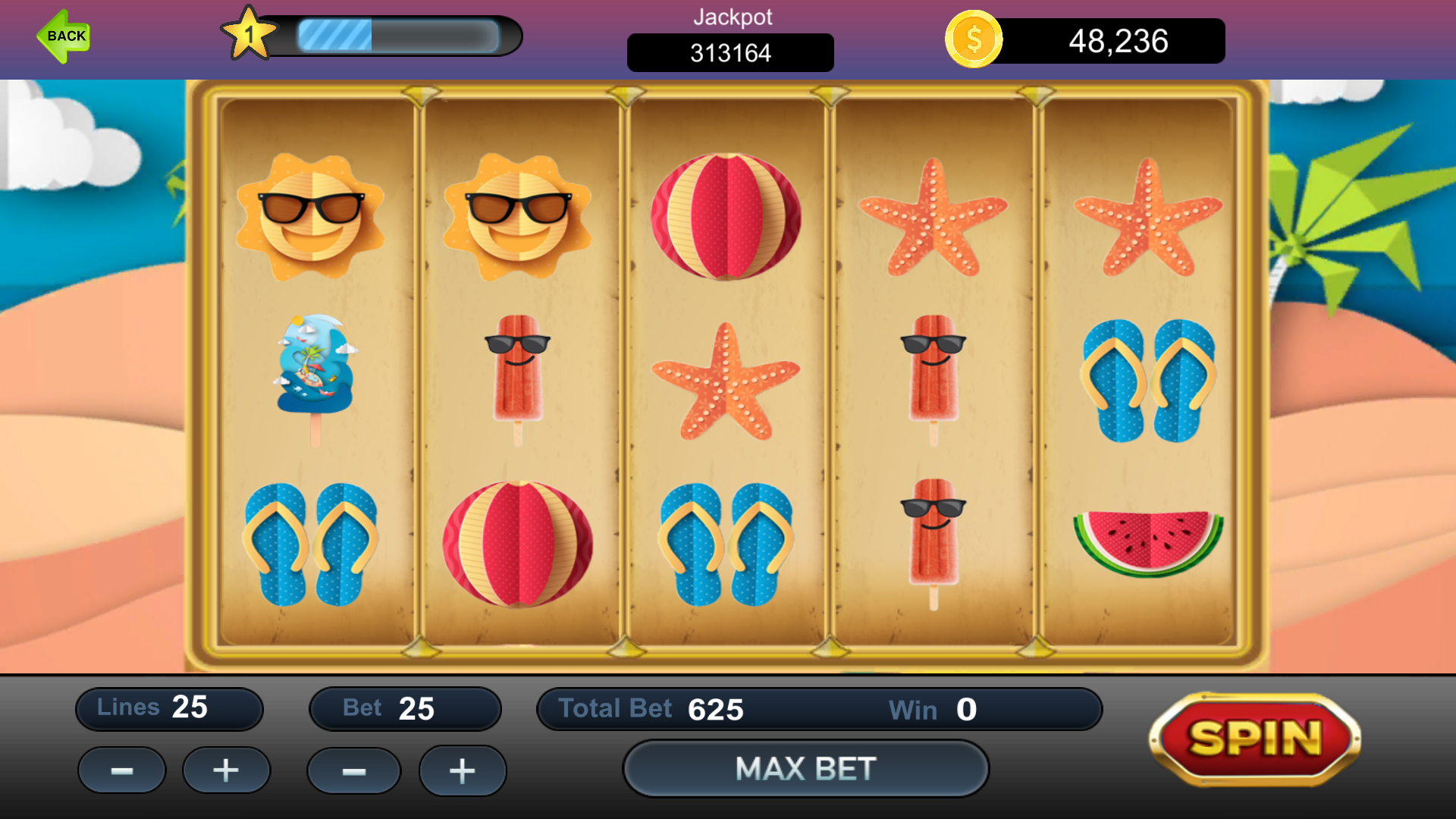 SummerTime Casino Slots Games