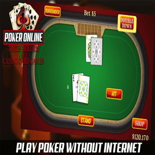 Poker Online Texas Holdem Casino Card Game